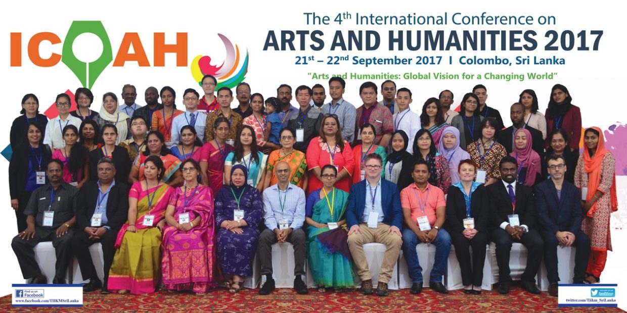 ICOAH 2017 - Arts and Humanities Conference 2017