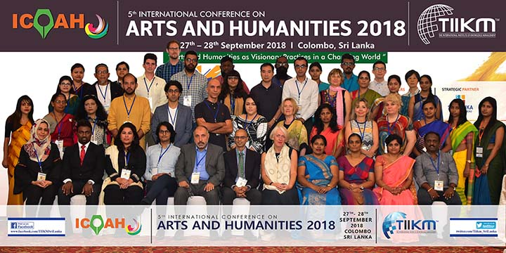 Arts and Humanities Conference 2019