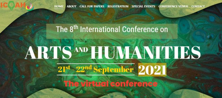 call for paper arts conference